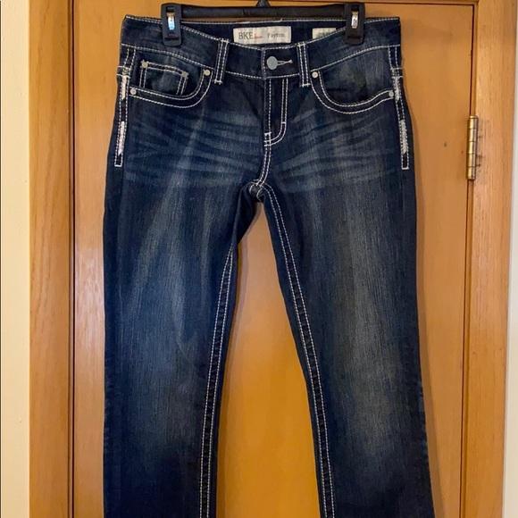 BKE Women's Payton Jeans Lightly Distressed 28R